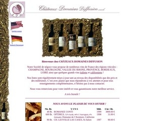 Chateaux Domaines Diff web hosting YOORshop