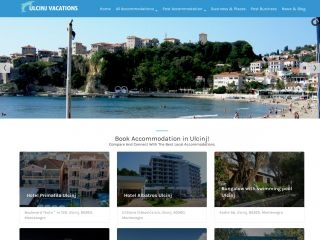 Ulcinj Vacations web hosting YOORshop