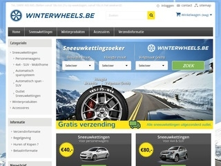 Winterwheels.be web hosting YOORshop